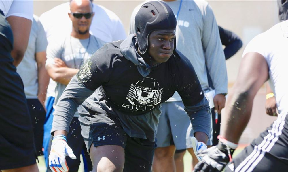 New Mississippi State four-star DE recruit Nathan Pickering (Photo: 247 Sports)