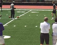 Michael Vick is surprise lead coach at Marty Morningwheg's prep passing camp