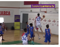 Watch this 6-foot-10 basketball player dominate fellow 12-year-olds