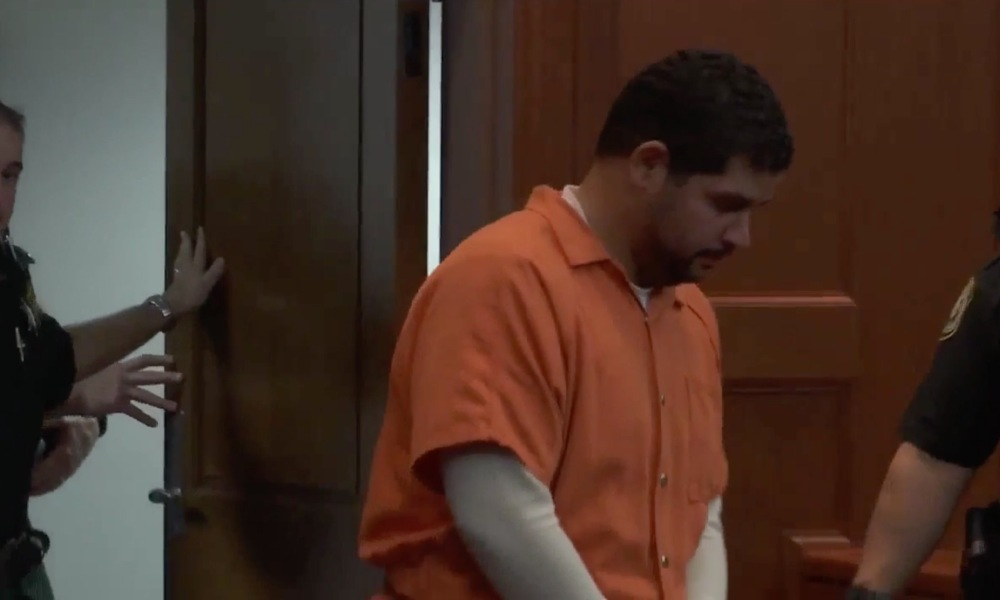 Rian Rodriguez appears in court (Photo: @WJXT/Twitter screen shot)