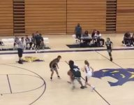 Kobe Bryant's daughter Gianna shows off transition defense, slick spin move