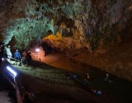 Thai youth soccer team, coach found alive after 10 days lost in caves