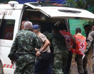 Thailand cave rescue: Fifth boy out, eight remain trapped