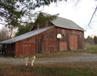An old barn, a basketball rim, a father, two kids. An Indiana story.