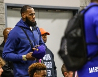 LeBron and Dwyane Wade court-hopped to see LeBron James Jr., Zaire Wade notch wins