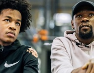 Kevin Durant offers his stamp of approval on Sharife Cooper