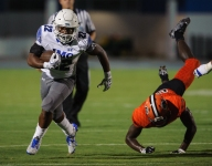 Noah Cain and Trey Sanders happy to share load at IMG, talk package deal in college