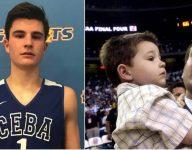 Coach K's grandson Michael Savarino is a legit college prospect at PG