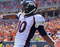 VIDEO: Broncos WR Emmanuel Sanders went Uncle Drew on a HS football team