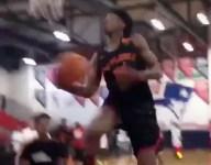 Butler commit Khalif Battle threw down an insane 360 dunk before an AAU game