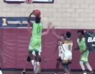 LeBron James Jr. throws down dunk, goes off in big win