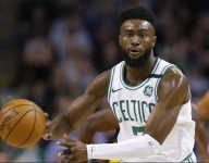 VIDEO: Watch young Ferris Daley score on Jaylen Brown at his own camp, to everyone's thrill