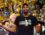 Peach Jam: Kevin Durant and other NBA stars take in games at Peach Jam