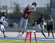 Jermaine Burton returns to Calabasas shortly after transferring to IMG Academy