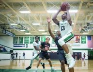 Trinity basketball star David Johnson commits to hometown Louisville — again