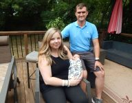 Iowa couple's baseball baby born hours after state tournament
