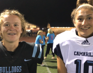 Matchup of female kickers makes history in California high school football game