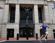 Sprinting intern made famous by Paul Manafort verdict was cross country, track star