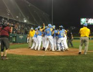 VIDEO: Hawaiian LLWS slugger Aukai Kea channels Bryce Harper with walk-off bat flip