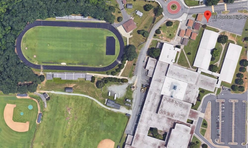 C.E. Jordan High School in Durham, N.C. (Photo: Google Satellite)
