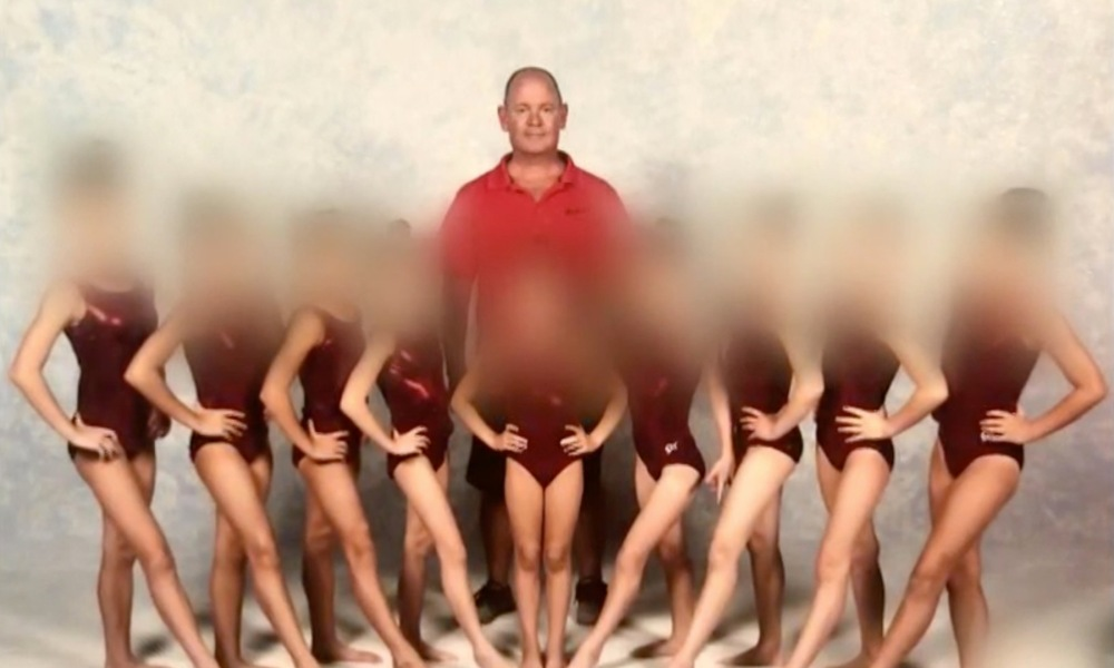 51-year-old Skip Crawley is accused of sexually abusing three young gymnasts (Photo: WFAA screen shot)