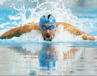 A 10-year-old nicknamed Superman broke one of Michael Phelps' unbreakable records
