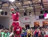 WATCH: Jarace Walker clears teammate in Jr. NBA Camp Skills Competition