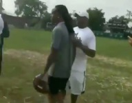 VIDEO: Migos rapper Quavo shows up at Cass Tech (Mich.) football practice