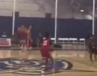 Junior Colorado guard Bryson Stephens hits back-to-back halfcourt shots