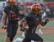 Word to the wise: Don't throw on Belleville (Mich.) star Andre Seldon
