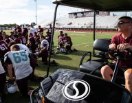 Texas football coach finds strength and opportunity in medical setback