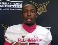 Florida State commit Brendan Gant celebrates Under Armour All-America Game selection