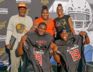 Devontae Dobbs, Julian Barnett honored with Under Armour All-America Game jerseys