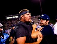 Football coaches suspended following altercation after rivalry game