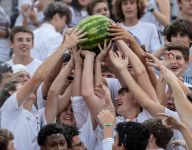 Students' watermelon stunt at football game prompts complaints of racism, apology