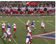 VIDEO: North Gwinnett (Ga.) QB makes slick behind-the-back move, throws TD