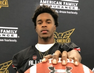Oregon committed 4-star safety Mykael Wright celebrates Under Armour All-American selection