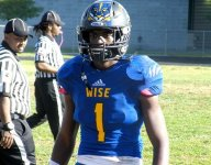 New Maryland coach Mike Locksley delivers in recruiting, flips 4-star WR Isaiah Hazel from WVU