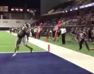 Junior Texas WR Keith Miller III channels Dez Bryant at Cowboys facility The Star