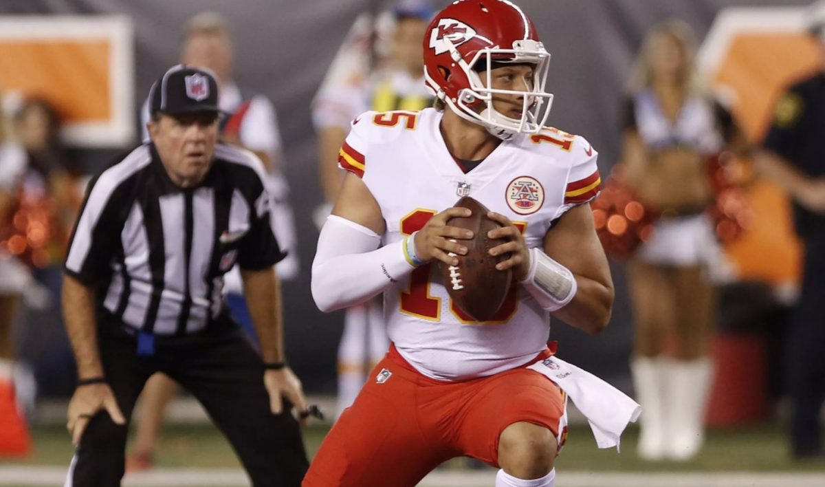 Chiefs quarterback Patrick Mahomes (Photo: USA TODAY Sports)