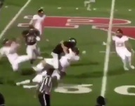 VIDEO: HOW did Dominion (Va.) returner Trey Hayes escape with a TD on this runback?