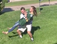 VIDEO: The man behind the viral Clay Matthews roughing the passer imitation is a prep basketball coach
