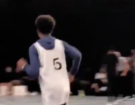 Mikey Williams, an eighth grader, just threw down a windmill dunk