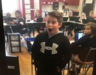 Asheville High (N.C.) QB Three Hillier surprises biggest fan