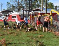 Big Bend football teams take part in Hurricane Michael relief efforts