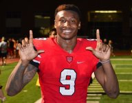 VIDEO: LSU commit Marcel Brooks high fived a teammate while scoring TD