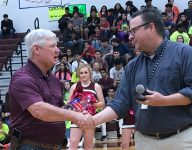 Calallen's Steve Chapman presented ALL-USA Baseball Coach of the Year trophy