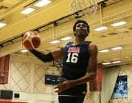 WATCH: Chosen 25 PF Greg Brown turned a layup line into a one-man dunk contest