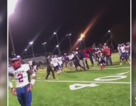 Coach suspended, players disciplined after brawl at Va. football game