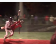VIDEO: Check out this one-handed TD* catch from Michigan
